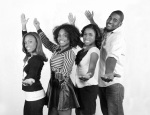 (left to right) Lenneia Batiste, Shanica Johnson, Kristen Holloway, Jadaun Sweet